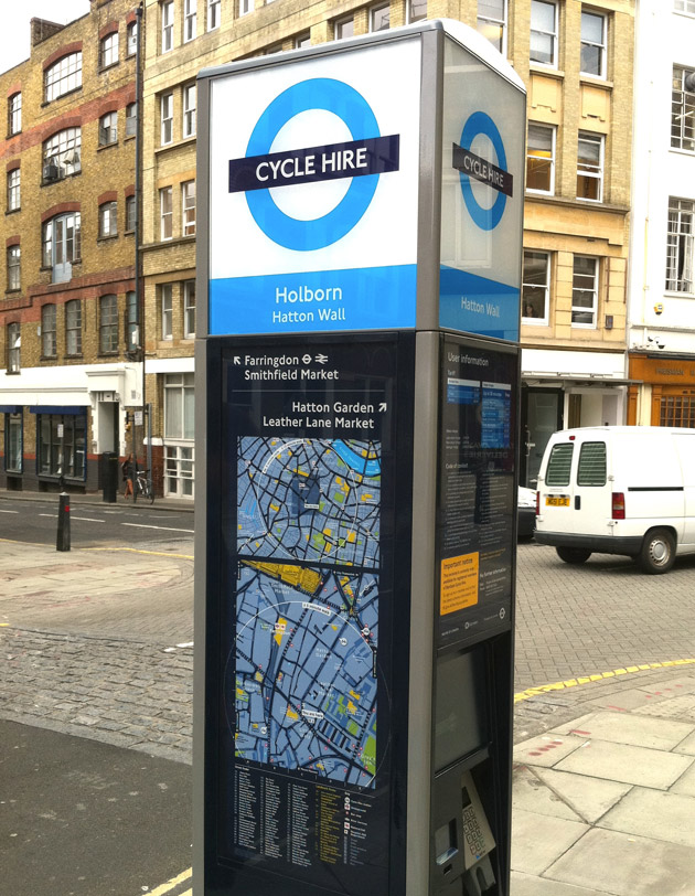 montar en bici en Londres