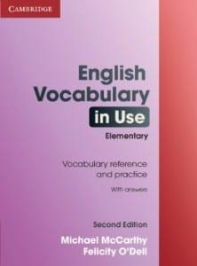 vocabulario en ingles para principiantes