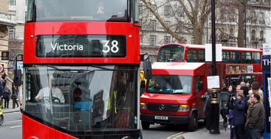 autobus en londres