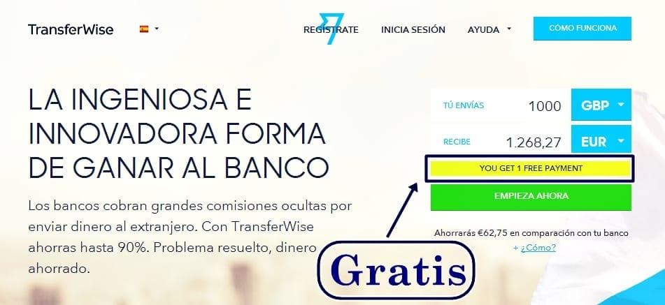 comisiones transferencia:
