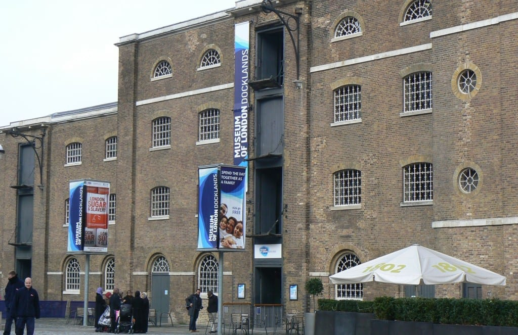 canary wharf museo