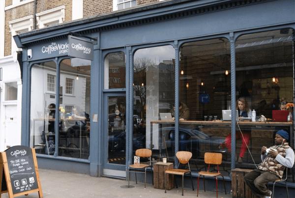 La entrada al CoffeeWork Project