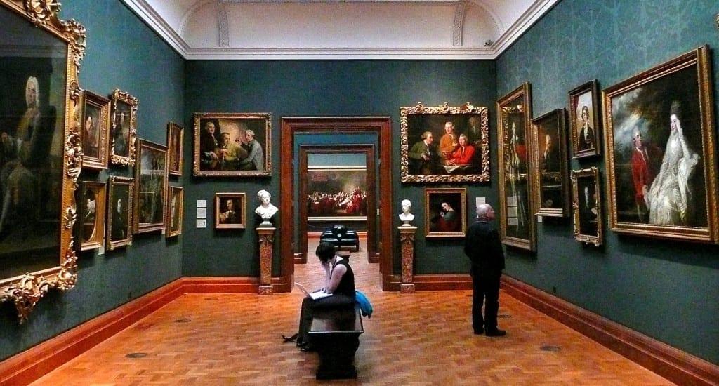 Una de las salas de la National Gallery