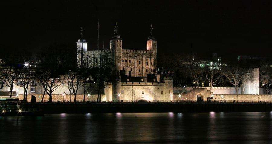 Torre-de-Londres-Noche