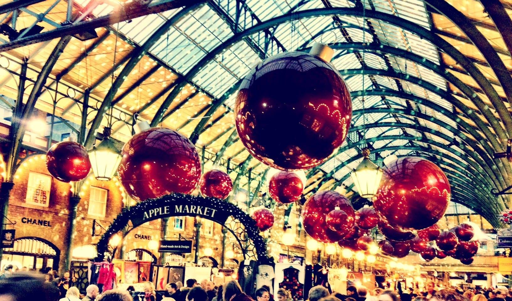 compras de navidad en londres