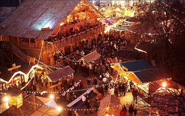 Mercadillos navideños en Hyde Park: Winter wonderland