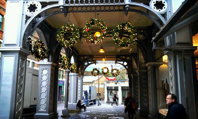 Borough Market entre los mercadillos navideños de Londres