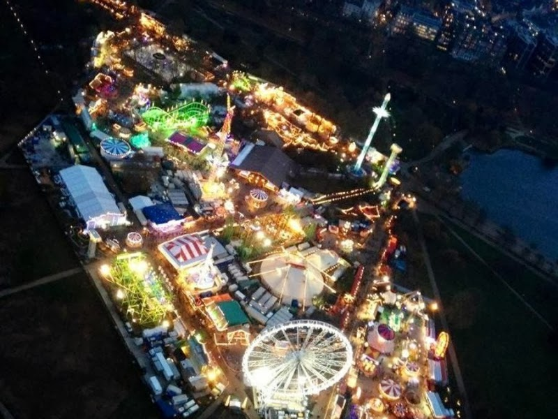 atracciones de navidad en winter wonderland