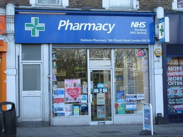 farmacias en inglaterra y reino unido