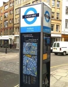 montar en bicicletas en Londres