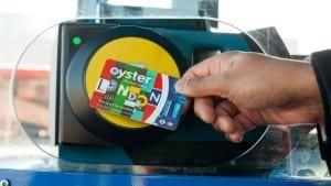 Transporte público con la tarjeta oyster card