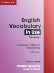 vocabolario inglese per principianti