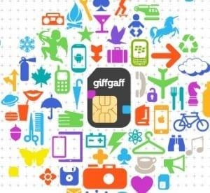 recibir tarjeta Giffgaff España para utilizar en Londres