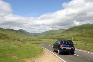Distancia para ir de Londres a Edimburgo en coche