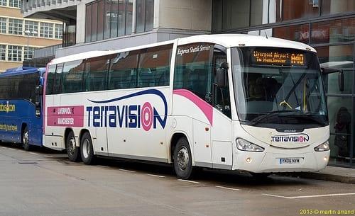 viajar con terravision desde el aeropuerto stansted hasta victoria Londres