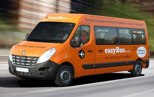 aeropuerto stansted londres bus easybus diferentes opciones