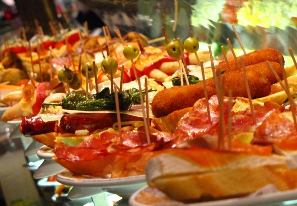 comida española restaurante inglaterra