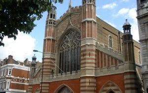 Las iglesias más bonitas de Londres: Holy Trinity