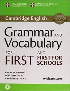 gramatica vocabulario first certificate