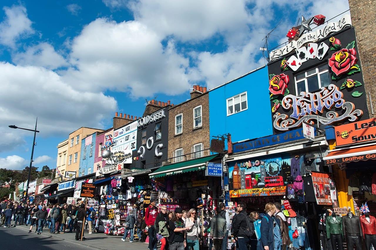 Camden Town, barrio alternativo de Londres
