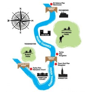 Hora y parada del barco en Londres que recorre el Támesis