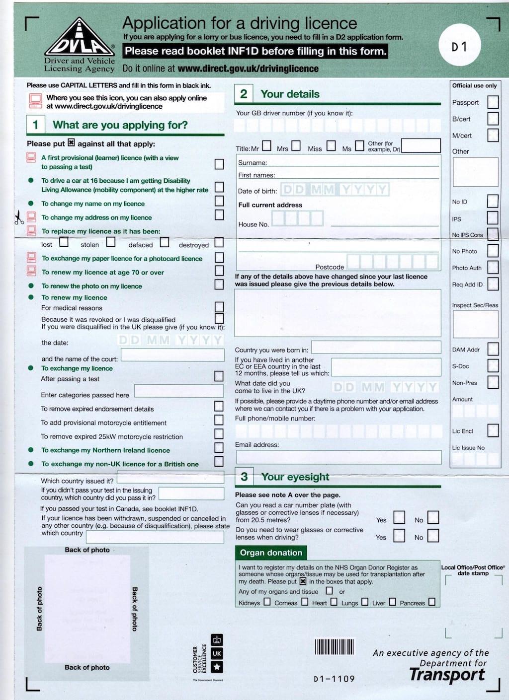Conducir en Inglaterra con carnet o permiso de conducir