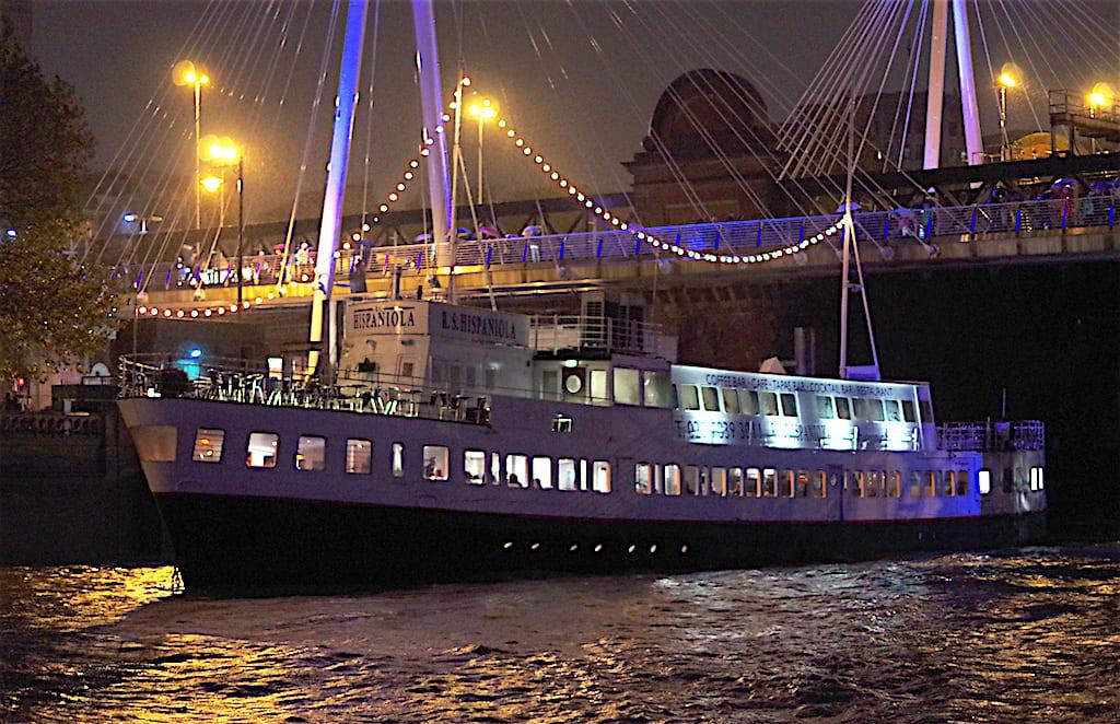 Cenar en Londres en Nochevieja