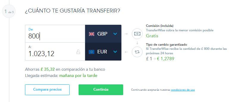 Cómo usar Transferwise