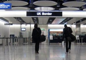 Arancel por pasar comida por las aduanas de UK