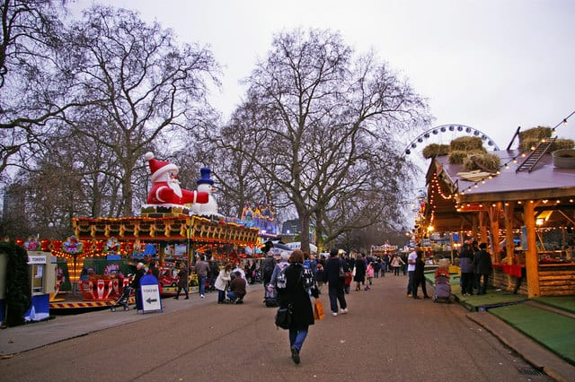 Winter Wonderland en Hyde Park