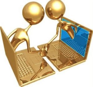 Hacer amigos por internet en el país y en inglés