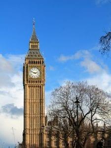 Imagen del reloj Big Ben