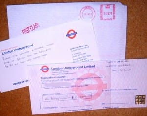 Mapa y Planificador del metro de Londres (tube)