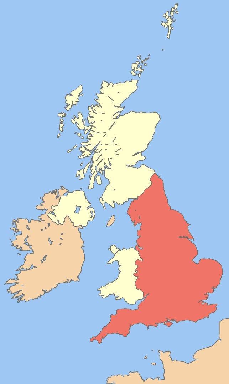 Gran Bretana Mapa Politico.Reino Unido Gran Bretana E Inglaterra Guia De Diferencias