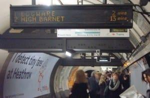 Mapa y Líneas del metro de Londres
