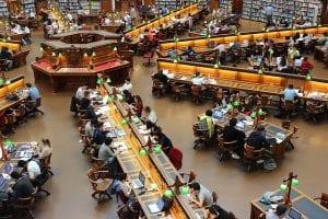 Estudiar en la libreria en Reino Unido