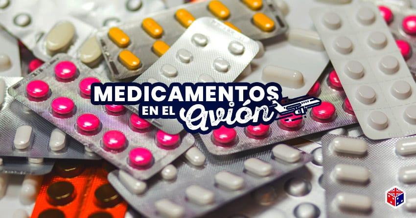 que medicamentos se pueden llevar en el avion