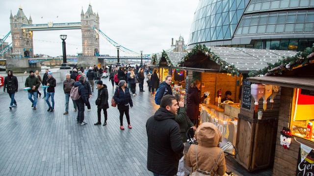 Mercadillos navideños en Covent Garden