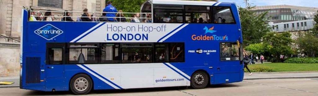 La visita en bus turístico es casi obligada cuando visitamos Londres