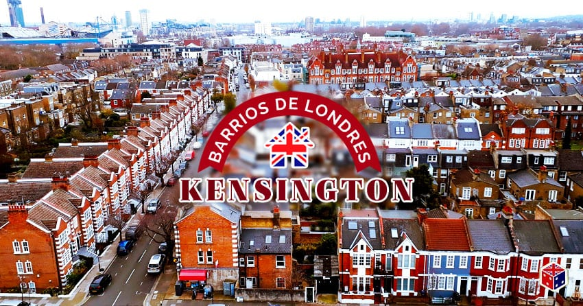 ver zona del barrio kensington en londres