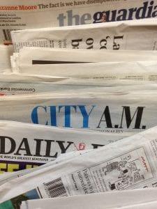 Aprender inglés en Reino Unido: Periódicos ingleses