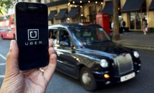 Viajar con Uber en Londres, descargar mapa