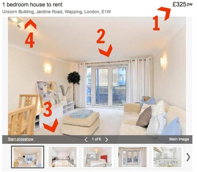 Precios e información de alquiler de habitaciones en casa compartida en zonas particulares de Londres