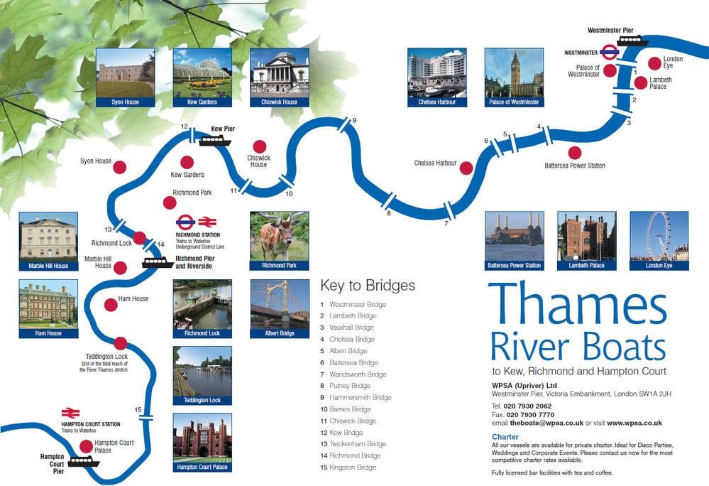 Visitar y dar viajes por Londres en barco