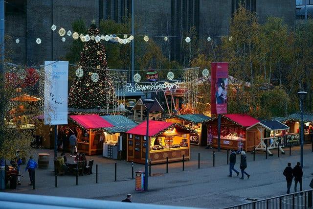 Mercadillos navideños en Tate Modern