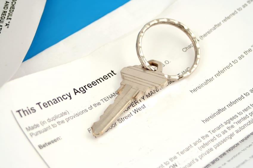 Contrato del alquiler de piso compartido