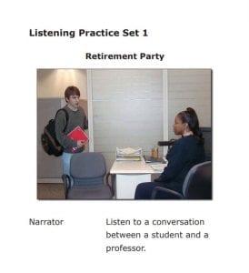Para preparar el Listening del TOEFL escucha podcast en inglés, por ejemplo.