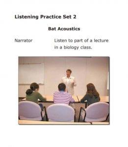 El Listening es fácil de aprobar si tienes buena capacidad de comprensión en inglés.