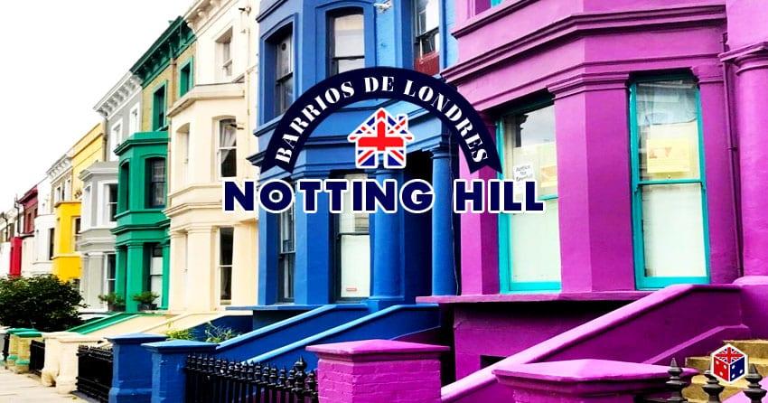 ver el barrio notting hill en londres