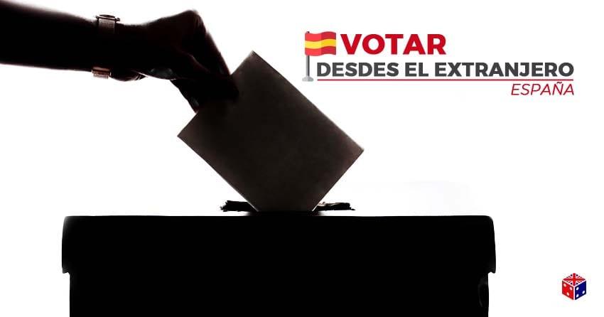 puede extranjero votar por internet desde españa